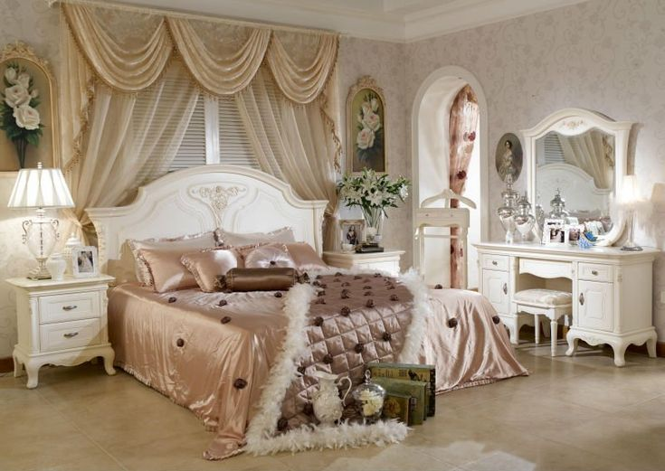 estilo clássico de quarto, decoração de quarto estilo  ~ Quartos Casal Vintage