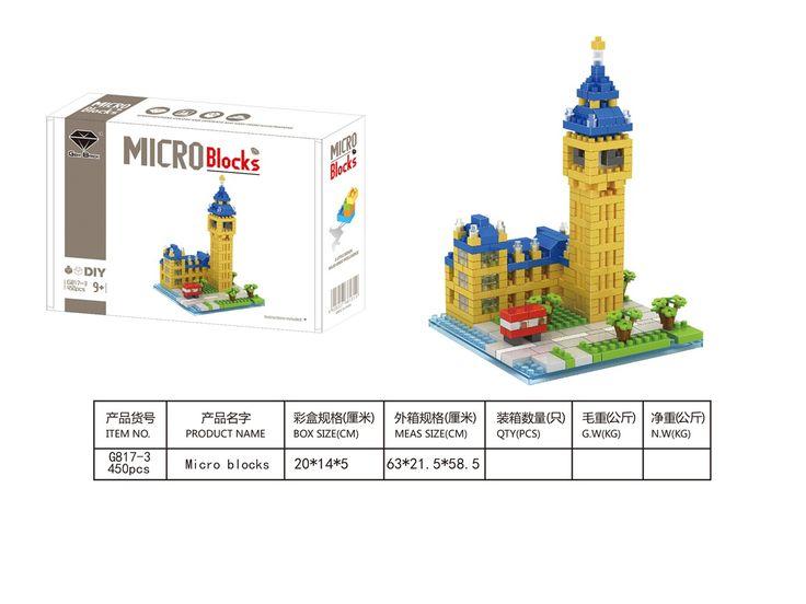 GEM Mini blocks World Building series Big benl 817-3
