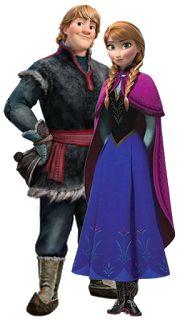 Anna e Kristoff - Cia dos Gifs