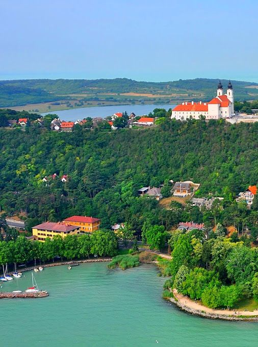The Tihany Peninsula of Lake Balaton
