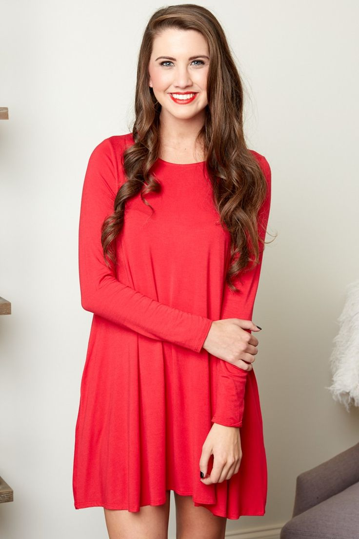 17 Best ideas about Red T Shirt Dress on Pinterest | Red t shirts ...
