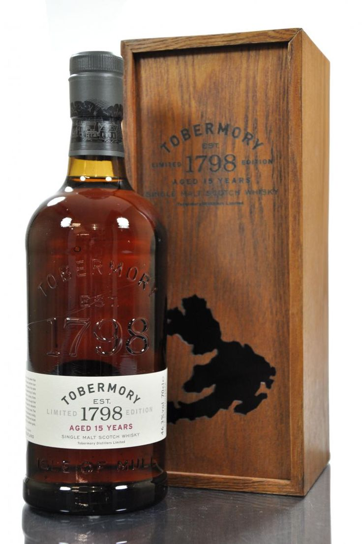 Tobermory scotch whisky 15 years old