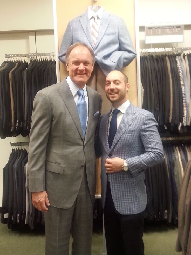 See Brian Billick dressed by Judah Estreicher on TV wearing JBD Clothiers for the NFL Draft on the NFL NETWORK!