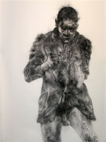 Diane Victor - charcoal