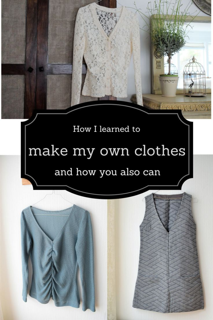 How I learned to make