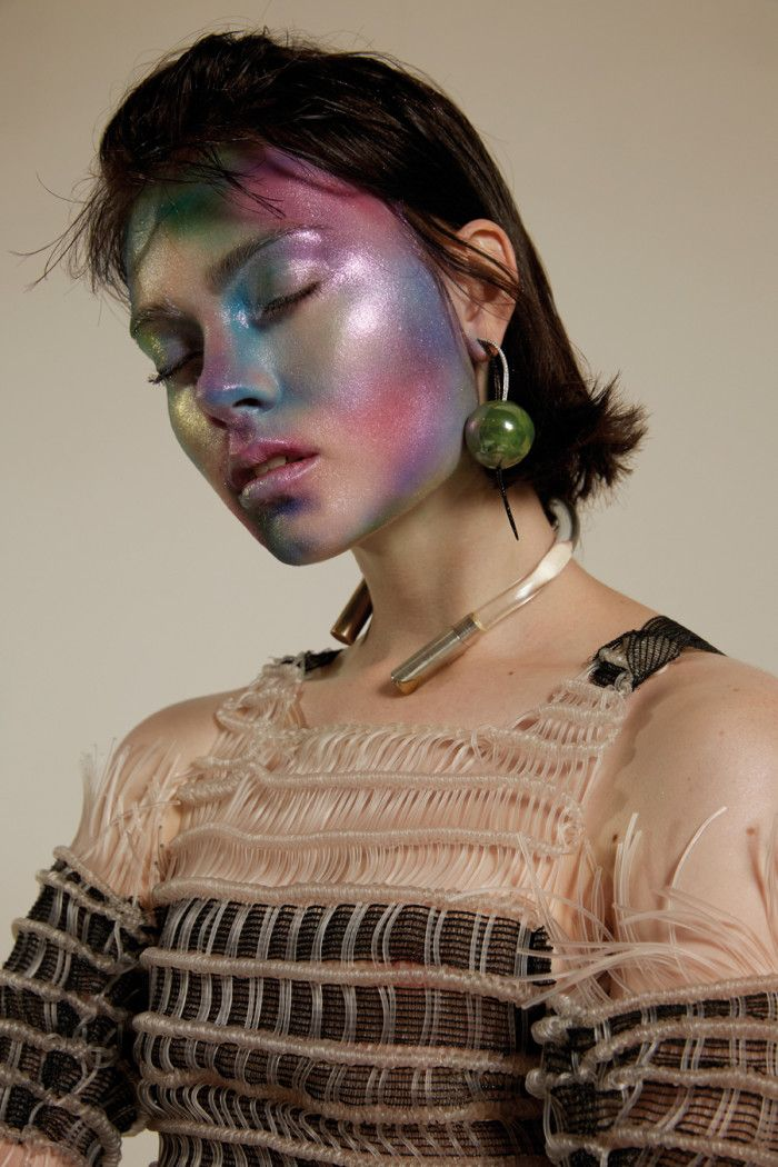 Isamaya Ffrench Airbrush Make-Up   Interview Magazin