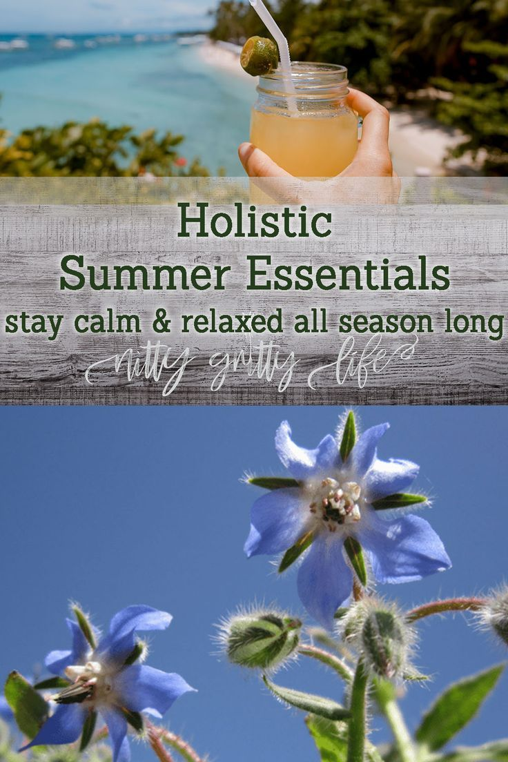 7 Holistic Summer Essentials to Stay Calm, Cool & Collected