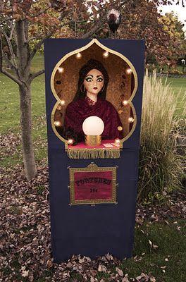 Fortune Teller Booth Halloween Craft! | matsutake