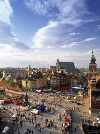 Warsaw - My birth town