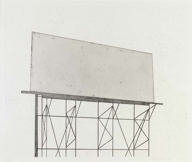 'Your Space' by Edward Ruscha, 2006.