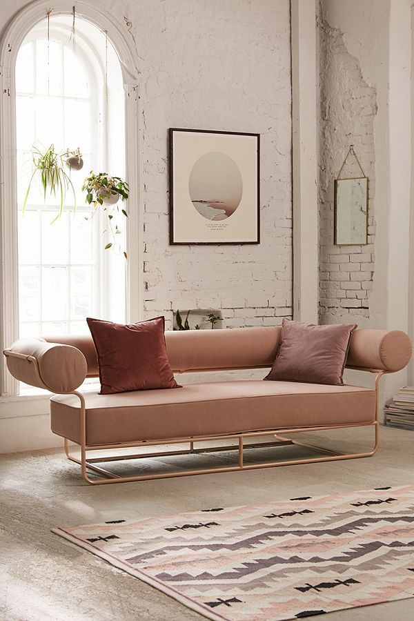 Ollie Sofa Millennial Interior Design Living Room Decor Scandinavian Style Furniture