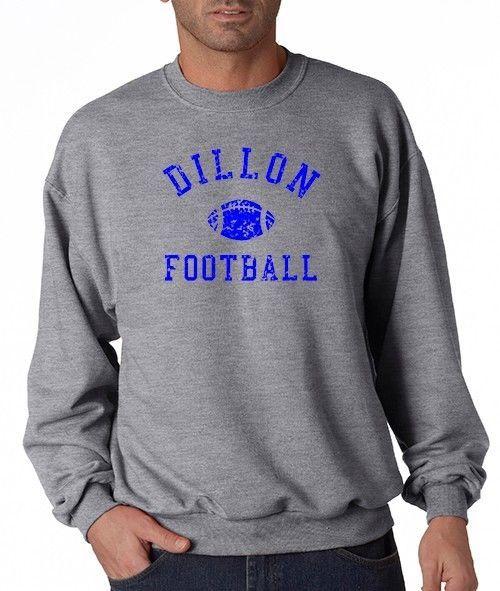 DILLON PANTHERS Football Friday Night Lights TV Show ~ Crewneck Sweat Shirt ~