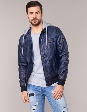 Kaporal DINO Marine pas cher prix promo Veste Homme Spartoo 109.00 €