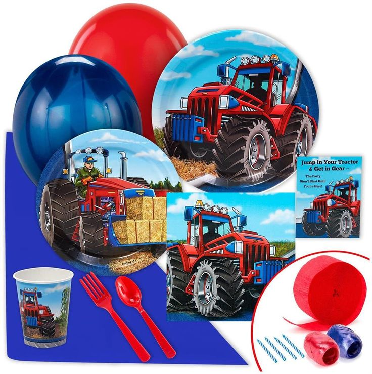 PartyBell.com - Farm Tractor Value #PartyPack