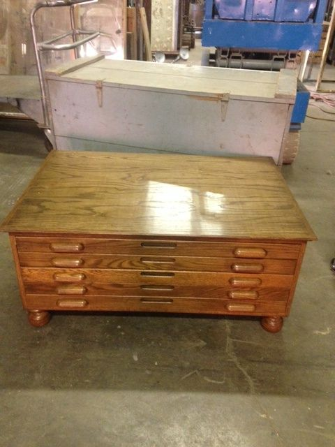 Genial Print Cabinet (perfect For Coffee Table): Available For Purchase At  Uncommon Market Dallas · Industrial FurnitureDallas ...