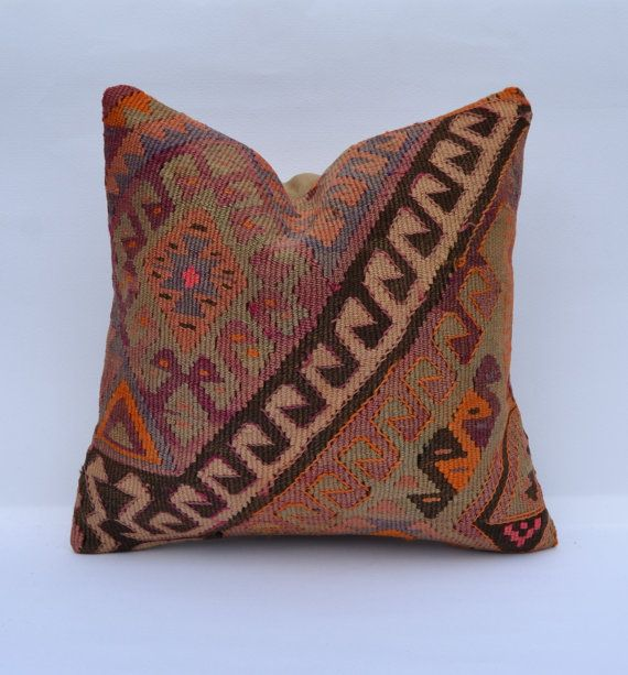 Hey, I found this really awesome Etsy listing at https://www.etsy.com/listing/184046103/shabby-chic-pillow-cover-kilim-cushion