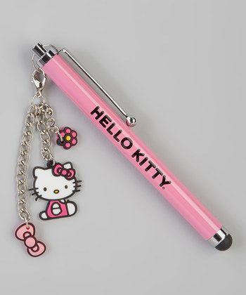 Hello Kitty stylus with charm. I want this! :3