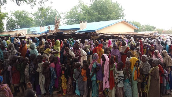 A humanitarian catastrophe is underway in northeastern Nigeria's war-torn Borno State, where at least 500,000 people are in urgent need of food, medical care, water, and shelter