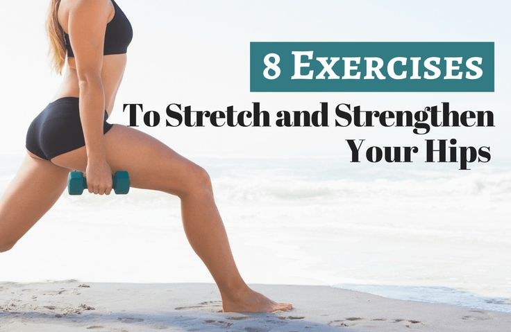 8 Hip Flexor Stretches and Exercises for Healthy Hips via @SparkPeople