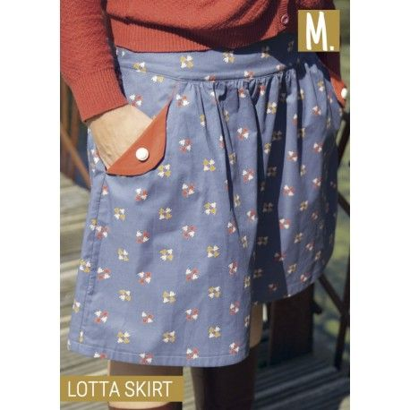 Lotta Rok patroon (tiener/dames)