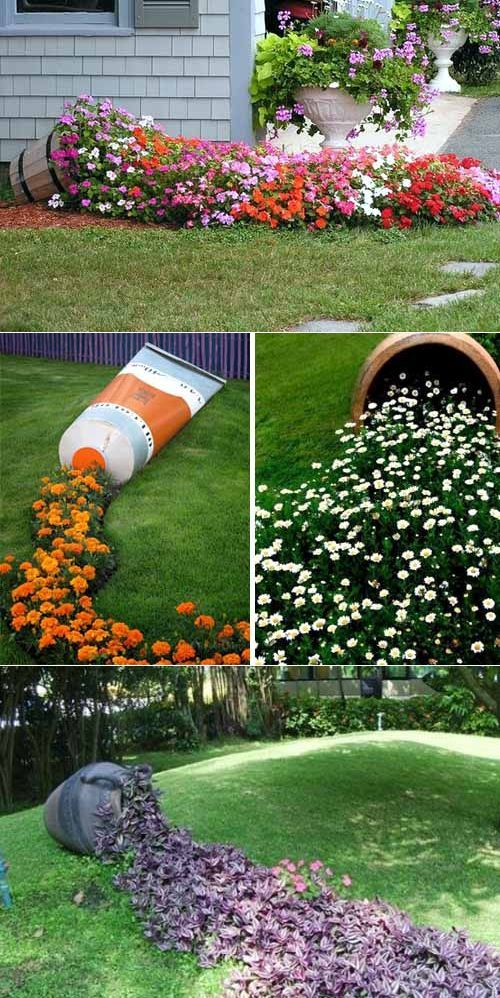 Secrets of beautiful flower beds design how to make a for Backyard flower bed ideas