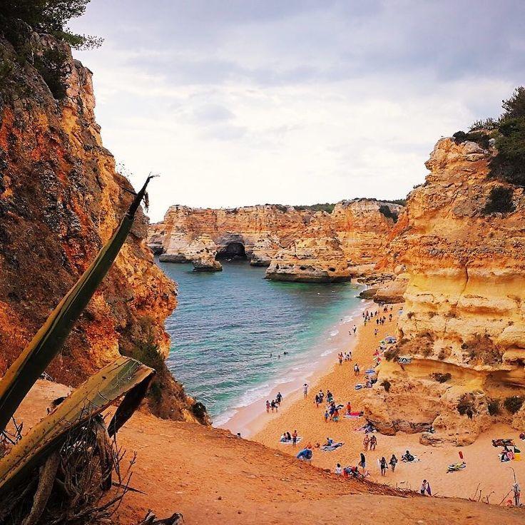 #praiadamarinha #south #Portugal #algarve #beach #beachlife