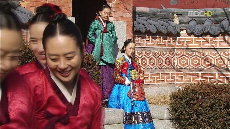 드라마 '해를 품은 달' 속 한복