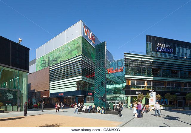 Westfield Stratford City adjacent to Olympic Park, London, UK, 26th March 2012 -