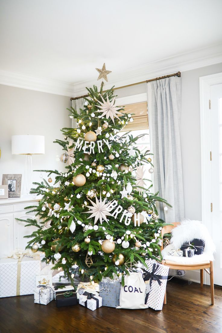 My white and gold Christmas home tour.