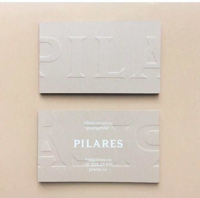 Beautiful de-boss business cards