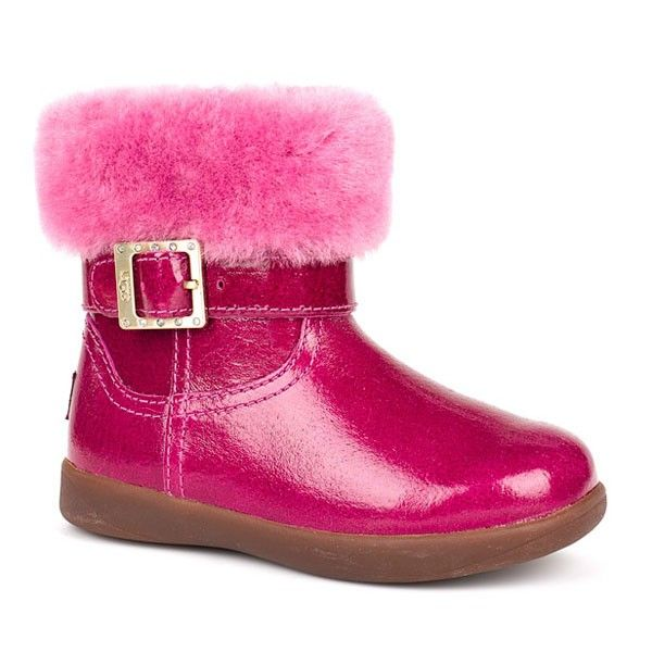 boots ugg kids baby girls gemma toddler victorian pink boot 10 toddler m