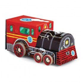 Vehicle Puzzle - Locomotive - 48 piece
