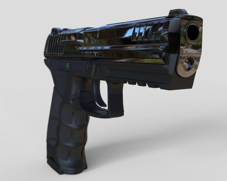 Heckler And Koch P30L PISTOL GUN 3D model