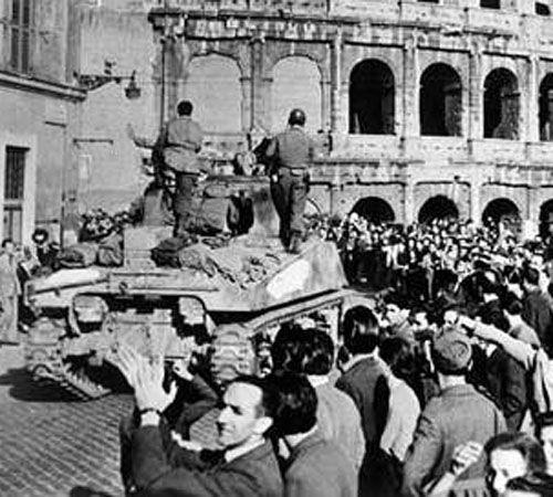 Liberazione di Roma il 4 giugno 1944