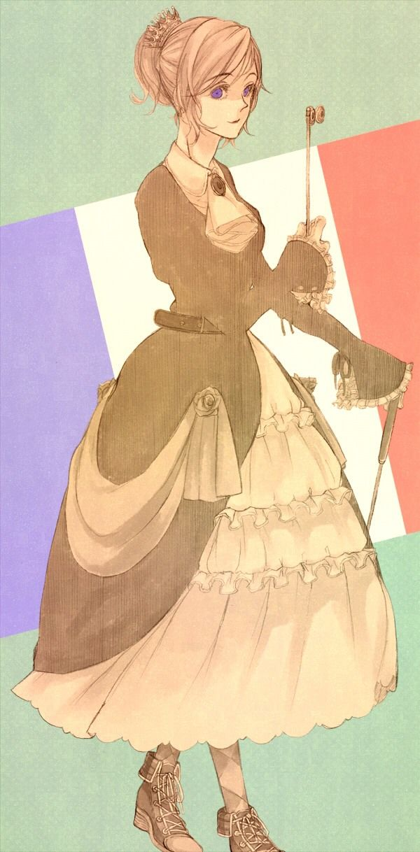Salut! I'm Francine, the country of France. I would love to talk with you all. *blows kiss*