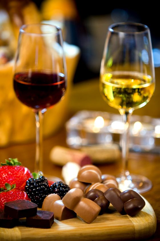 Chocolate and Wine are always part of the good life.