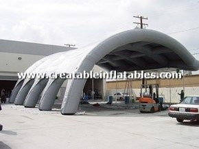 50x50 Giant Inflatable Tent For US Army & 26 best Inflatable Tents images on Pinterest | Chandelier Shelter ...