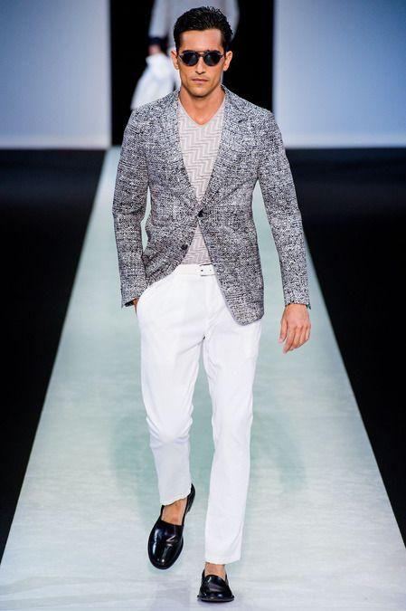 Giorgio Armani Spring 2014 Menswear Collection Slideshow on Style.com