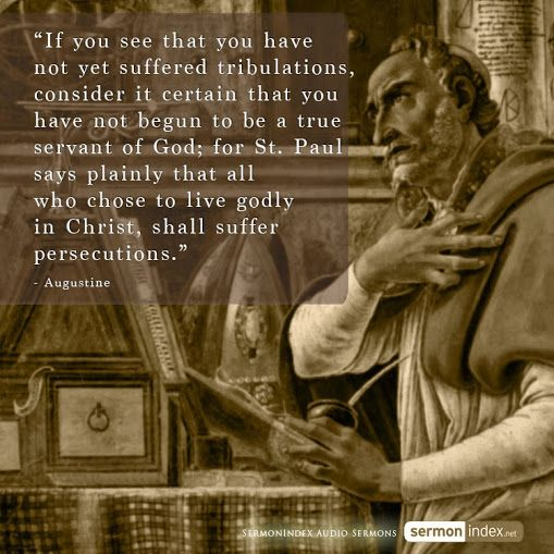 Augustine of Hippo (Latin: Aurelius Augustinus Hipponensis; November 13, 354 – August 28, 430), also known as Augustine, St. Augustine, St. Austin, St. Augoustinos, Blessed Augustine, or St. Augustine the Blessed, was Bishop of Hippo Regius. He was a Latin philosopher and theologian from Roman Africa. His writings were very influential in the development of Western Christianity.