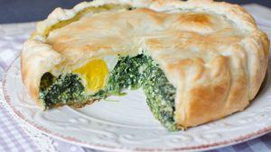 Immancabile sulla tavola il giorno di Pasqua e nei cesti per i pic-nic dell'Angelo, è anche un secondo vegetariano, alternativo ai tradizionali arrosti