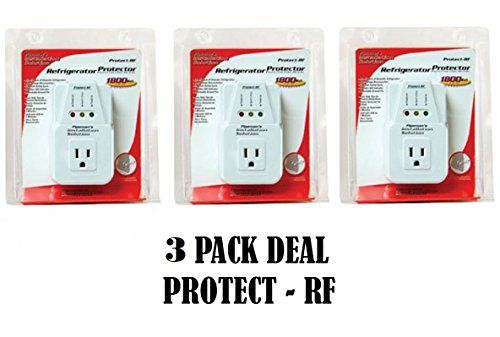 AC Voltage Protector Brownout Surge Refrigerator 1800 Watt Appliance 3 Pack Deal #Voltage #Protector #Brownout #Surge #Refrigerator #Watt #Appliance #Pack #Deal