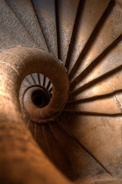 Escalier - Vieux-Lyon - France