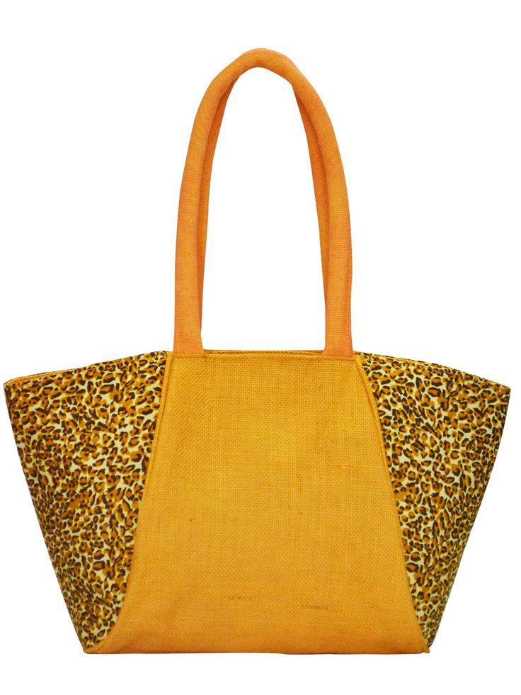 #officebag, #handbag, #orange, #leopardprint. Get it @ www.earthenme.com