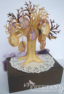 Модное хобби: Пасхальное дерево. Мастер-класс от Freetany