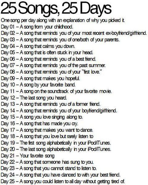 Going to start tomorrow because I need a little distraction each day with exams getting closer.