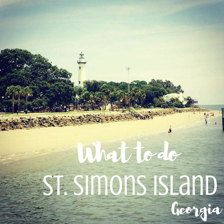One of Georgia's Golden Isles, St. Simons is a beautiful beach getaway