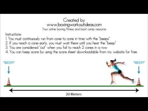 Beep Test Audio BEST QUALITY 2015 - Pacer test, multi stage fitness test, bleep test - YouTube