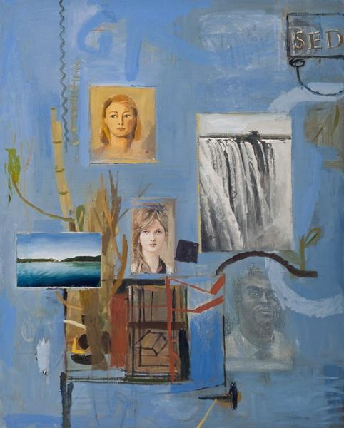 Simon Stone - A Retrospective Exhibition (Artwork entitled 'Blue Summer', 2011) #StandardBank #Gallery #Art