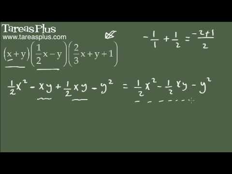 Como multiplicar más de dos polinomios algebraicos