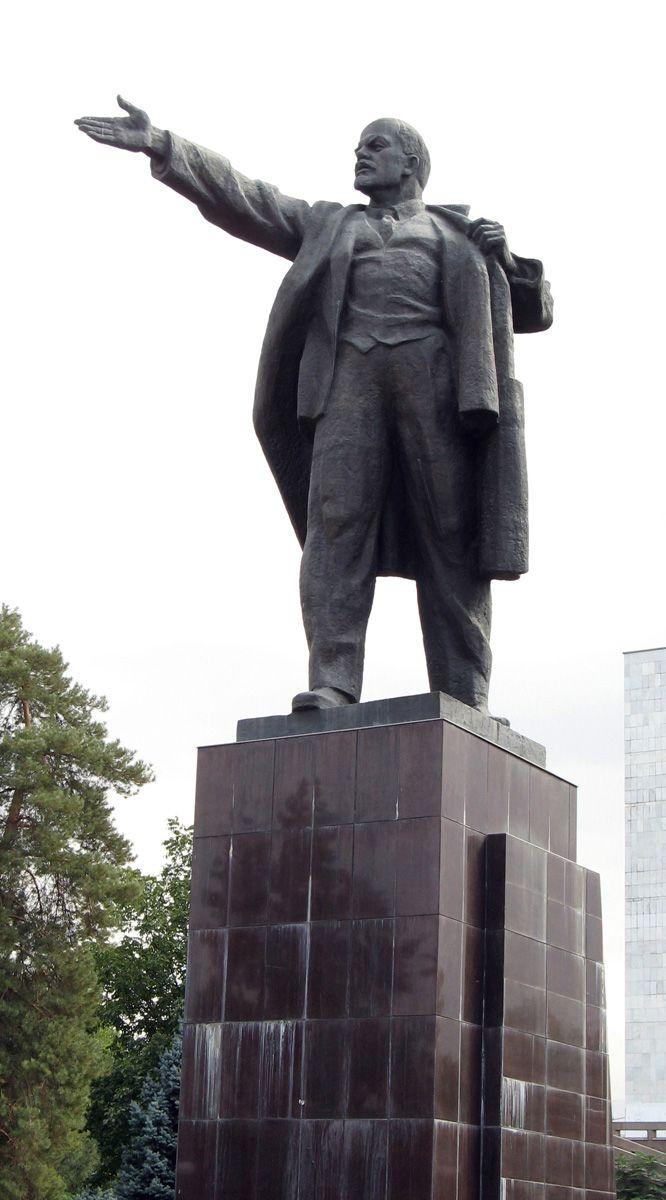 Image result for Lenin statue in Bishkek, Kyrgyzstan ...